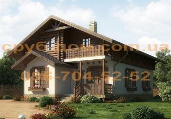 Комбинированный дом 166