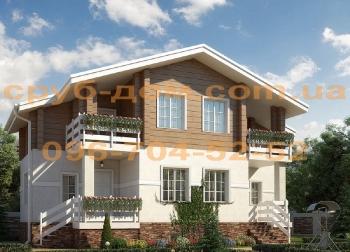 Комбинированный дом 140