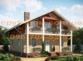 Комбинированный дом 180
