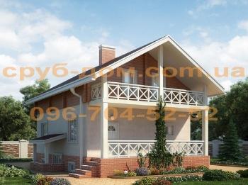 Комбинированный дом 120