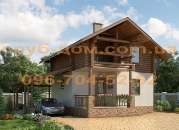 Комбинированный дом .74