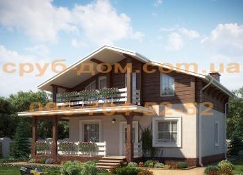 Комбинированный дом 162