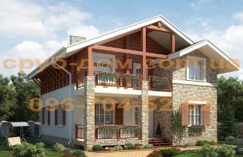 Комбинированный дом 200